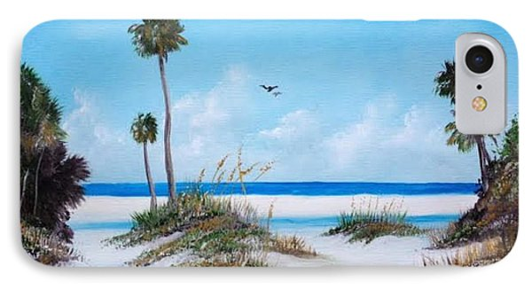 Siesta Key Fun IPhone Case by Lloyd Dobson