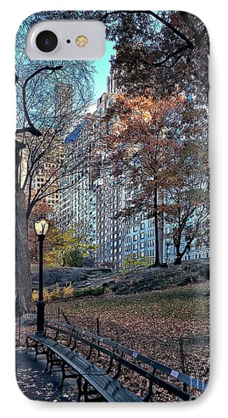 IPhone Case featuring the photograph Sights In New York City - Central Park by Walt Foegelle