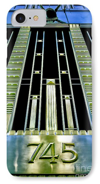 IPhone Case featuring the photograph Sights In New York City - Classy Address by Walt Foegelle