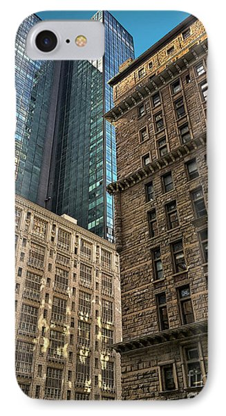 IPhone Case featuring the photograph Sights In New York City - Old And New 2 by Walt Foegelle