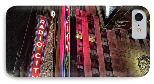 IPhone Case featuring the photograph Sights In New York City - Radio City by Walt Foegelle