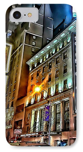 IPhone Case featuring the photograph Sights In New York City - Scientology by Walt Foegelle