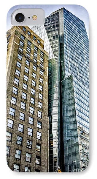 IPhone Case featuring the photograph Sights In New York City - Skyscrapers by Walt Foegelle