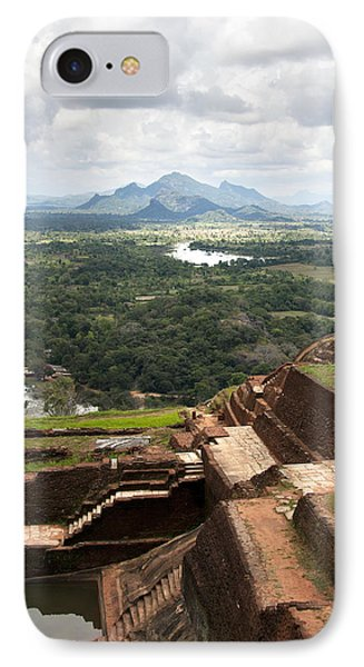 Sigiriya Ruins IPhone Case by Jane Rix
