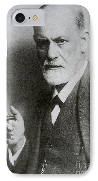 Sigmund Freud Psych  IPhone Case by Pd