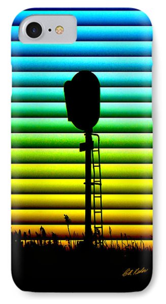 Signal At Dusk IPhone Case by Bill Kesler