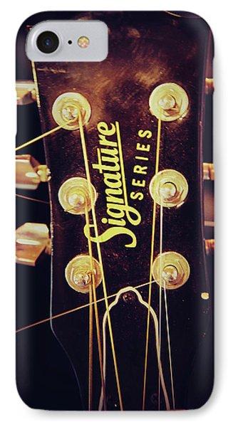 Signature Guitar IPhone Case