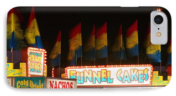 Signs Of Food At The Carnival Phone Case by James BO  Insogna