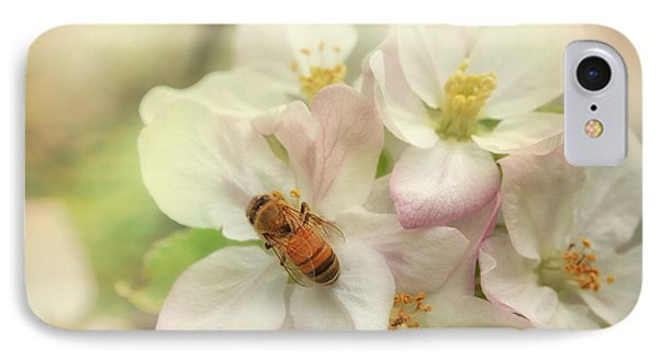 Honeybee iPhone 7 Case - Signs Of Spring by Susan Capuano