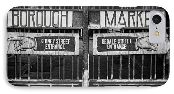 Signs Point The Way IPhone Case by Heather Applegate