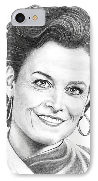Sigourney Weaver Phone Case by Murphy Elliott