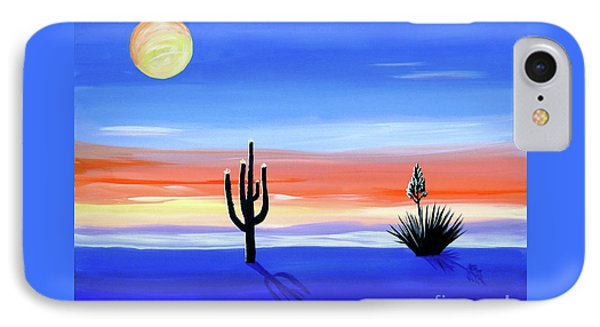 IPhone Case featuring the painting Silellnt Shadows by Phyllis Kaltenbach