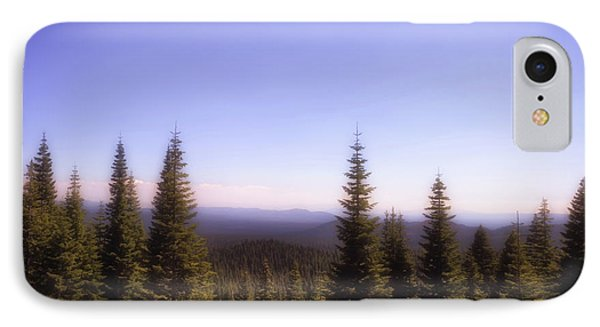 Silence In The Distance IPhone Case by Marnie Patchett