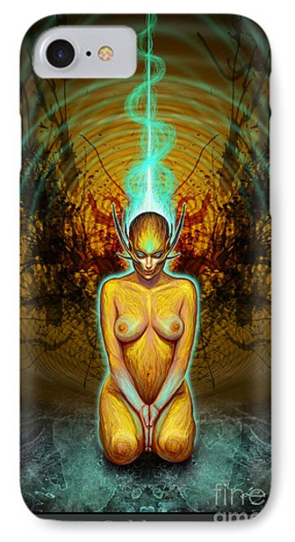 Silence Is Golden IPhone Case by Tony Koehl