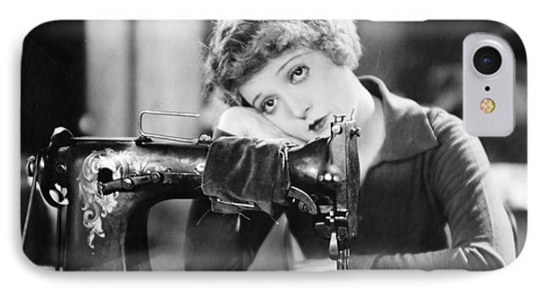 Silent Film Still: Sewing IPhone Case by Granger