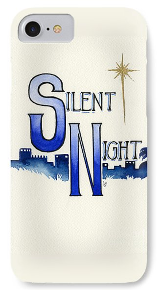 Silent Night IPhone Case by Cindy Garber Iverson
