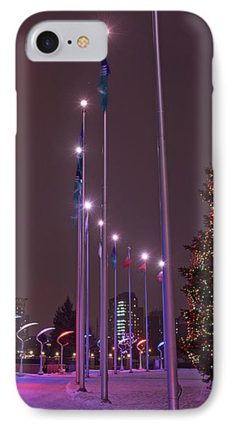 IPhone Case featuring the photograph Silent Night.. by Nina Stavlund