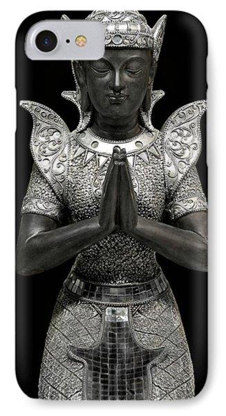 Silent Prayer IPhone Case by Joachim G Pinkawa