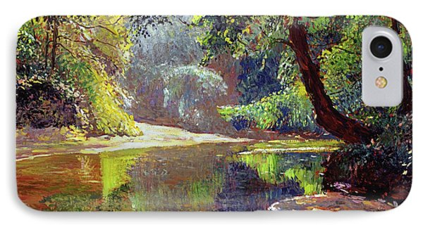 Silent River IPhone Case by David Lloyd Glover