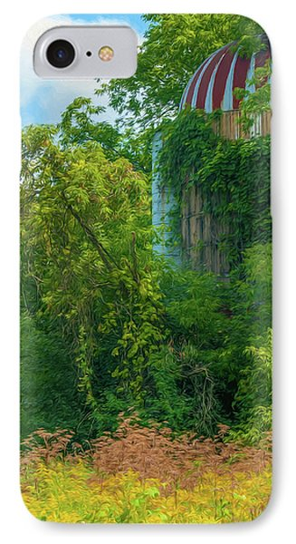 Silent Silo On Nottleson Road IPhone Case