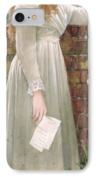 Silent Sorrow IPhone Case by Walter Langley