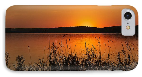 Silent Sunset IPhone Case by Penny Meyers