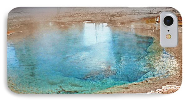 Silex Spring Fountain Paint Pot Yellowstone National Park Wy Phone Case by Christine Till