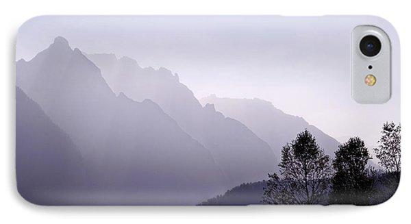 Silhouette Austria Europe IPhone Case