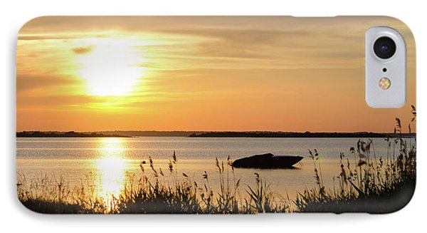 IPhone Case featuring the photograph Silhouette By Sunset by Kennerth and Birgitta Kullman