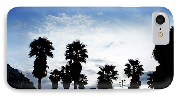 Silhouette In Tropea IPhone Case by Ana Mireles