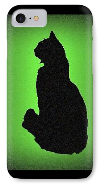 IPhone 7 Case featuring the photograph Silhouette by Karen Shackles