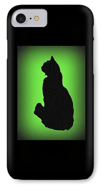 IPhone Case featuring the photograph Silhouette by Karen Shackles