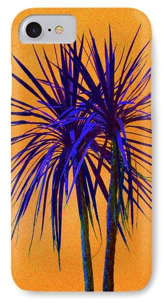 Silhouette On Orange Phone Case by Margaret Saheed