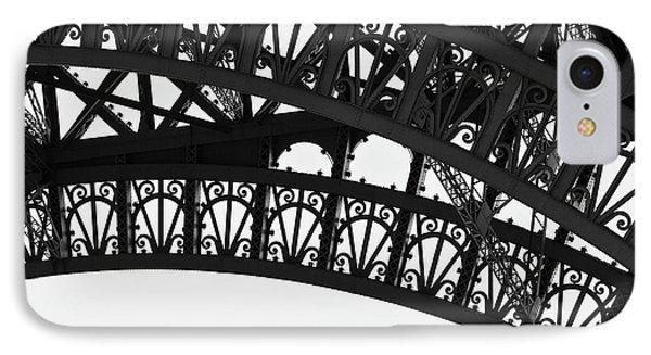 Silhouette - Paris, France IPhone Case