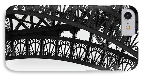 Silhouette - Paris, France IPhone Case by Melanie Alexandra Price
