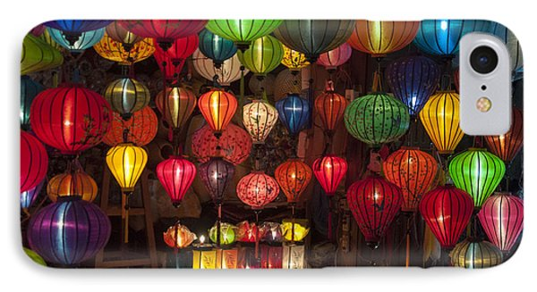 Silk Lanterns IPhone Case by Rob Hemphill