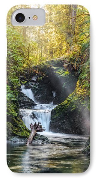 Silk Steps IPhone Case by James Heckt