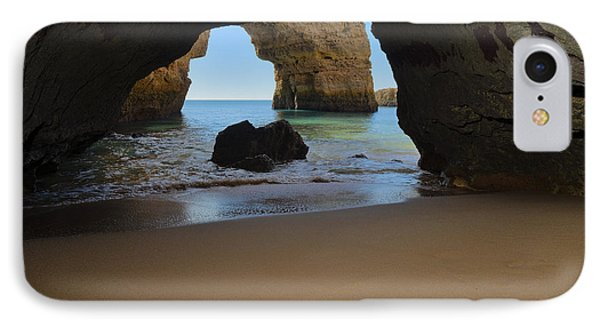 Silky Sands And Arch IPhone Case by Angelo DeVal