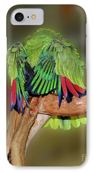 IPhone Case featuring the photograph Silly Amazon Parrot by Smilin Eyes  Treasures