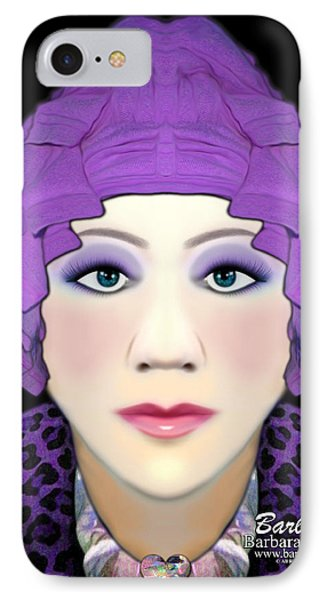 IPhone Case featuring the photograph Silly Headdress by Barbara Tristan