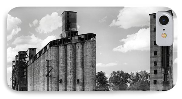 Silo City 3 IPhone Case by Peter Chilelli