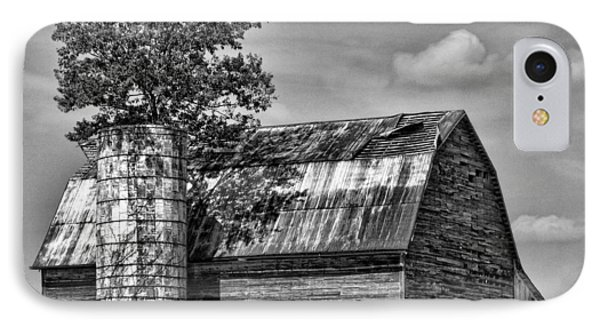 Silo Tree Black And White IPhone Case