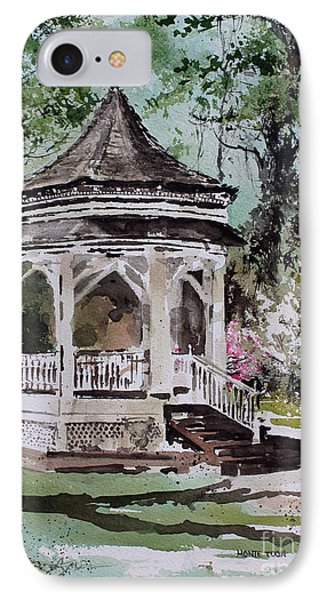 Siloam Springs Park Phone Case by Monte Toon