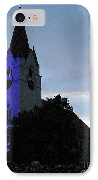 Silute Lutheran Evangelic Church Lithuania 01 Phone Case by Ausra Huntington nee Paulauskaite
