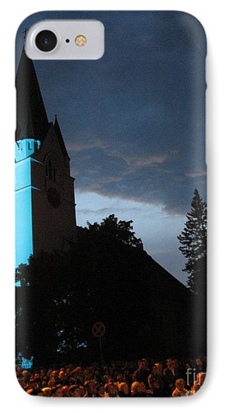 IPhone Case featuring the photograph Silute Lutheran Evangelic Church Lithuania by Ausra Huntington nee Paulauskaite