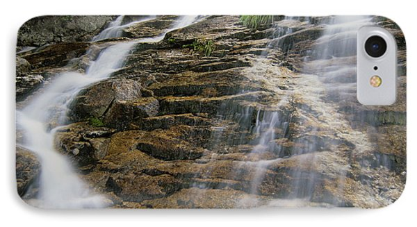 Silver Cascades - Crawford Notch New Hampshire Phone Case by Erin Paul Donovan