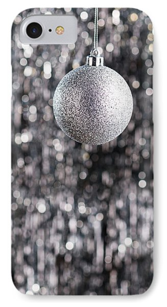 IPhone Case featuring the photograph Silver Christmas by Ulrich Schade
