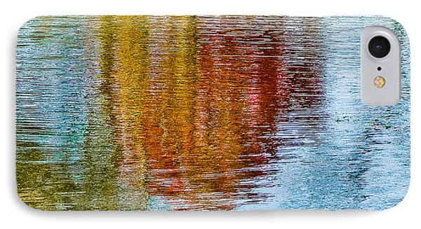 Silver Lake Autumn Reflections IPhone Case by Michael Bessler