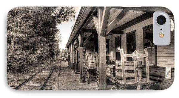 Silver Lake Rail Road 253 IPhone Case