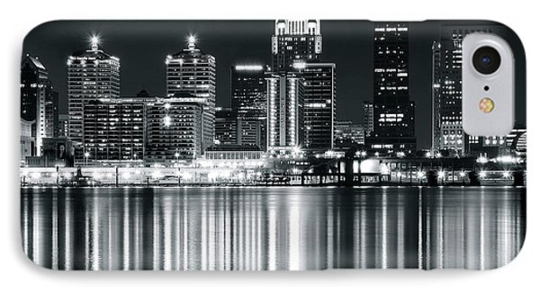 Silver Louisville Slugger IPhone Case by Frozen in Time Fine Art Photography